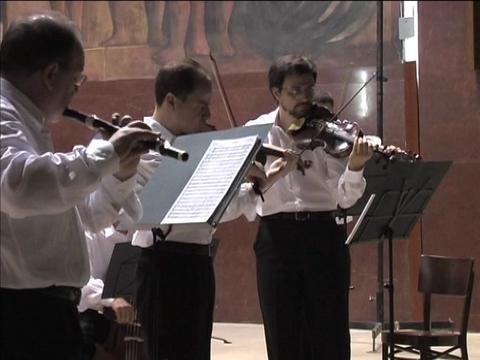 "Mario Bolognani and the chamber orchestra ""Diletto Barocco"""